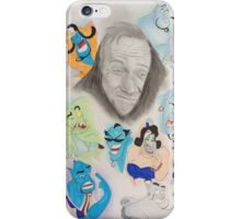 Robin Williams as Genie iPhone Case/Skin