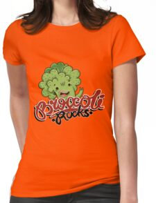 Broccoli Rocks  Womens Fitted T-Shirt