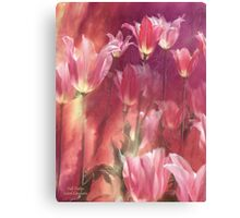 Tall Tulips Canvas Print