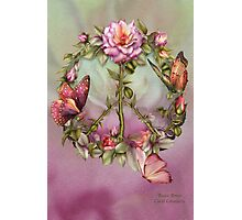 Peace Roses Photographic Print