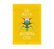 La Metamorphose - Jaune Imperial Art Print