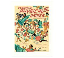 Greg Trefry: Designing Physical Games Art Print