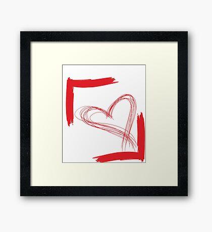 k4 Framed Print