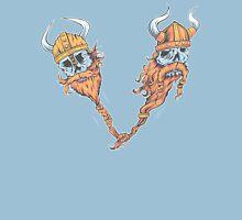 V is for Viking Beards of Valhalla Unisex T-Shirt