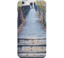 Wooden jetty iPhone Case/Skin
