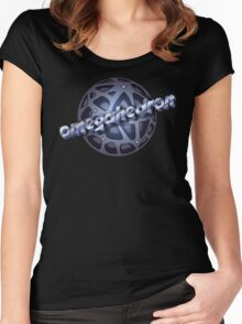 Argonian omegahedron Women's Fitted Scoop T-Shirt