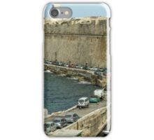 Fortress near the  Valletta iPhone Case/Skin