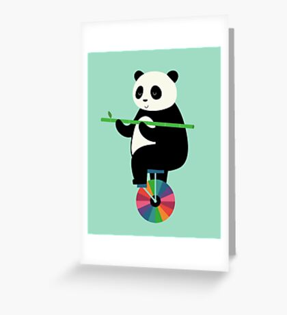 Learn To Balance Your Life Greeting Card