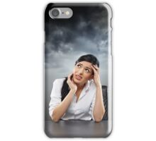 Stormy times coming iPhone Case/Skin