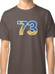 Golden State Warriors Record Breaking 73 Wins Classic T-Shirt
