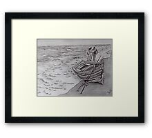 In His Hands Framed Print