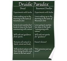 The Druidic Paradox Poster