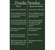 The Druidic Paradox Photographic Print