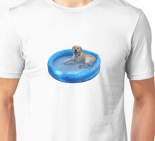 Benny in a pool! Unisex T-Shirt