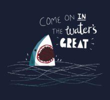 Great Advice Shark Kids Tee