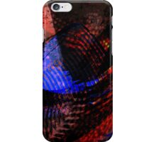 Red and Blue Birds in Flight iPhone Case/Skin