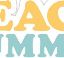 Beach Bummin' Sticker