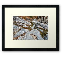 River in Romania Framed Print