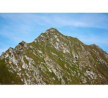 Mountain peak Photographic Print