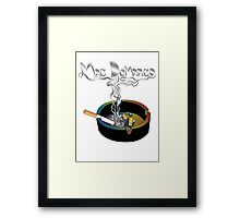 Mac DeMarco - smokin shit 2 Framed Print