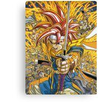 Crono - Heroe Sword Canvas Print