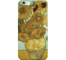 Vincent Van Gogh - Sunflowers  iPhone Case/Skin