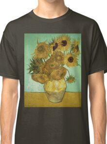 Vincent Van Gogh - Sunflowers  Classic T-Shirt