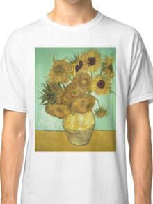 Vincent Van Gogh - Sunflowers  Classic T-Shirt