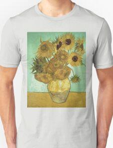Vincent Van Gogh - Sunflowers  T-Shirt