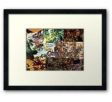 Chrono Trigger - Fan Art Framed Print