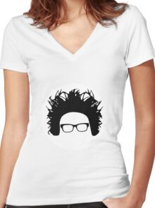 Motion City Soundtrack // Justin Women's Fitted V-Neck T-Shirt