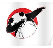 Panda Dab Dance Style Poster