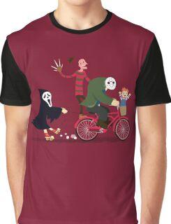 Horror Night Off Graphic T-Shirt