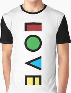 Love Cubism Graphic T-Shirt