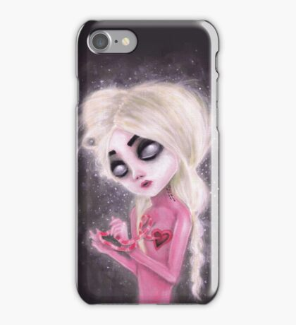 lost forever in a dark space iPhone Case/Skin