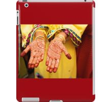 Mehendi in Udaipur iPad Case/Skin