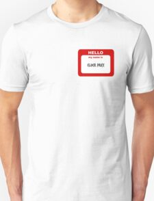 Hello My Name Is Elder Price Trash  T-Shirt
