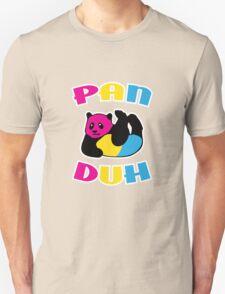 Pan Duh Panda Pansexual LGBT Pride Unisex T-Shirt