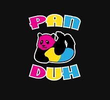 Pan Duh Panda Pansexual LGBT Pride Women's Fitted Scoop T-Shirt