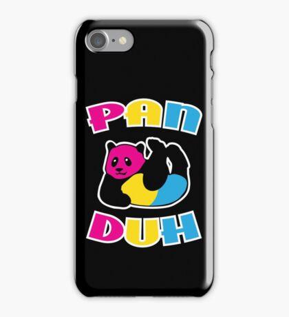 Pan Duh Panda Pansexual LGBT Pride iPhone Case/Skin