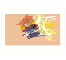 Picture Crono - Heroe Time Art Print