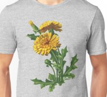 Dandelion - acrylic painting on canvas Unisex T-Shirt