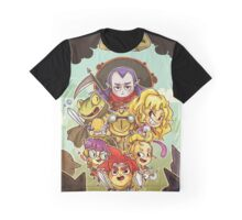 Chibi Chrono Trigger Graphic T-Shirt