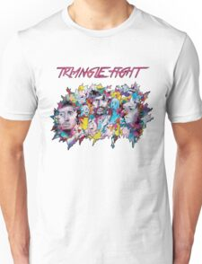 Triangle Fight's Face-Splash Unisex T-Shirt