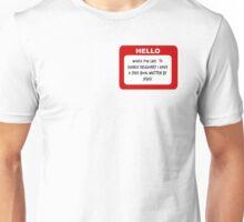 Hello My Name is Elder Cunningham Trash Unisex T-Shirt