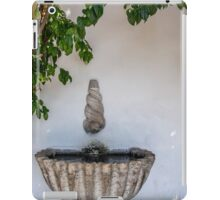 Lisbon Fountain iPad Case/Skin