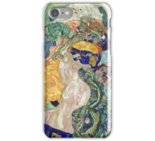 Gustav Klimt - Baby ,Cradle  iPhone Case/Skin