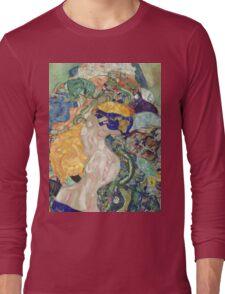 Gustav Klimt - Baby ,Cradle  Long Sleeve T-Shirt