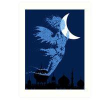 Arabian Nights Desert Wind Djinn Art Print