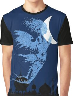 Arabian Nights Desert Wind Djinn Graphic T-Shirt